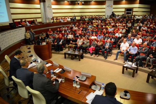 Antalya U-ETDS ve Sayısal Takograf bilgilendirme toplantısı