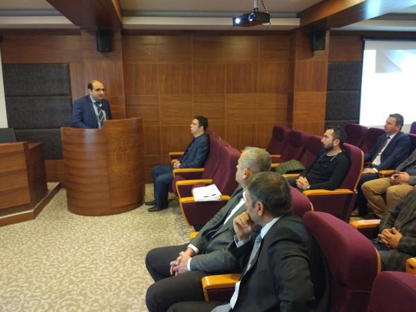 Fethiye U-ETDS ve Sayısal Takograf bilgilendirme toplantısı