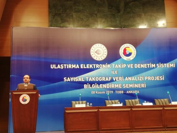 Ankara U-ETDS ve Sayısal Takograf bilgilendirme toplantısı