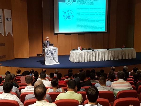 Mersin U-ETDS ve Sayısal Takograf bilgilendirme toplantısı