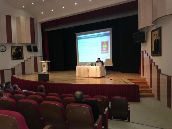 Tokat UETDS ve Sayısal Takograf bilgilendirme toplantısı