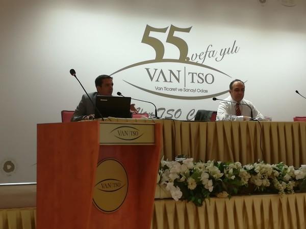 Van UETDS ve Sayısal Takograf bilgilendirme toplantısı